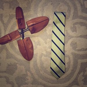 Náutica Green and Blue stripped tie